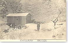 Town of Edinburg, NY - Copeland Covered Bridge